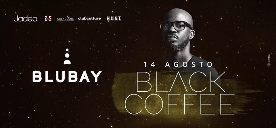 Blubay Fest con Black Coffee