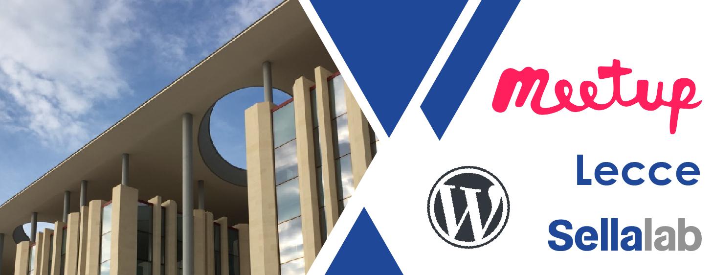 WordPress Meetup Lecce | GDPR, cosa fare per WordPress (e per tutti i siti web)