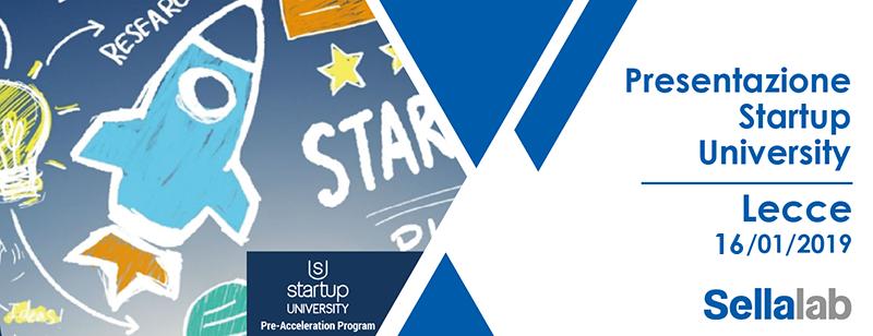 Presentazione Startup University
