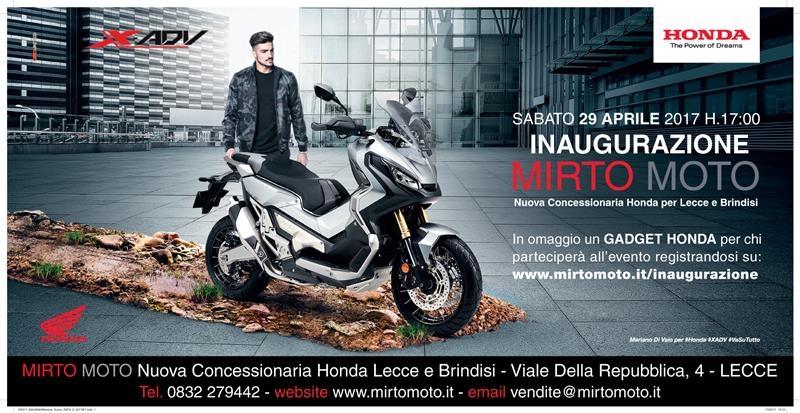Inaugurazione Mirto Moto Honda Beecodeit